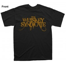 The Whiskey Syndicate - Right Side Of Crazy - T - SHIRT BLACK WITH BACKPRINT